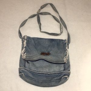 Fay Bags - Fay Distressed Jean Satchel